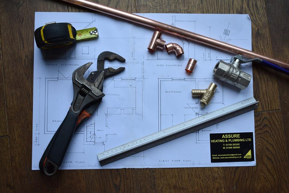 Plumber in Romford. Assure Heating & Plumbing Ltd offer a variety of plumbing services in Romford, Essex.