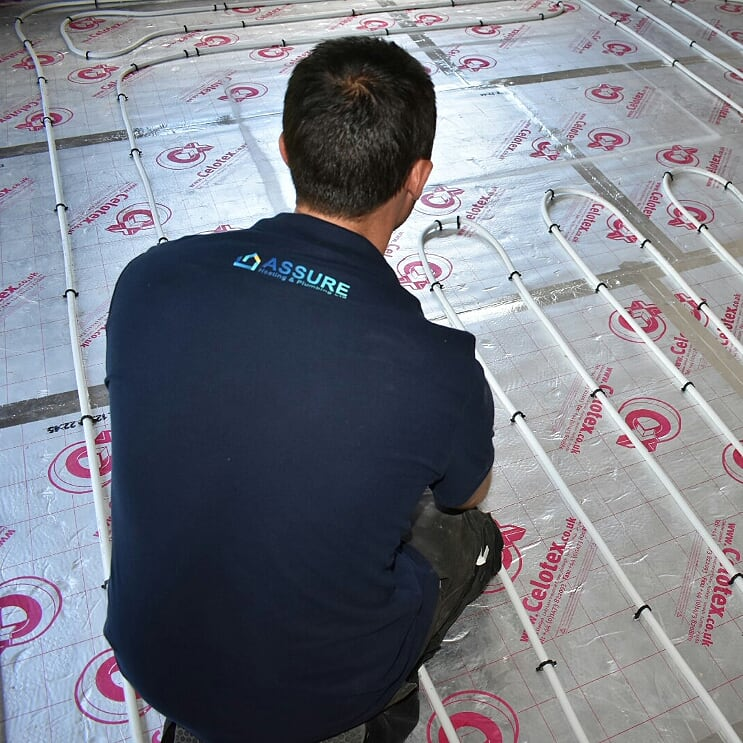 Assure Heating and Plumbing offer UnderFloor heating services across Essex and East London.
