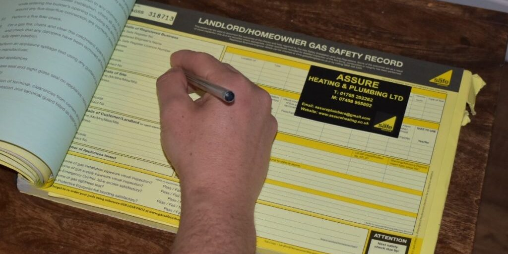Assure Heating and Plumbing can carry out you Landlord Gas Safety Certificate in Essex and East London.